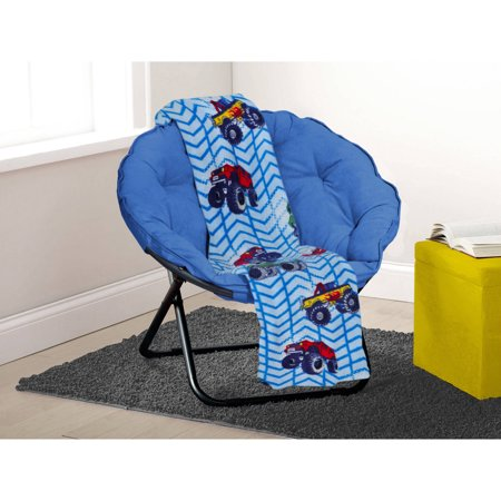 Incredible Mainstays Kids Monster Rally Printed Plush Throw Theyellowbook Wood Chair Design Ideas Theyellowbookinfo