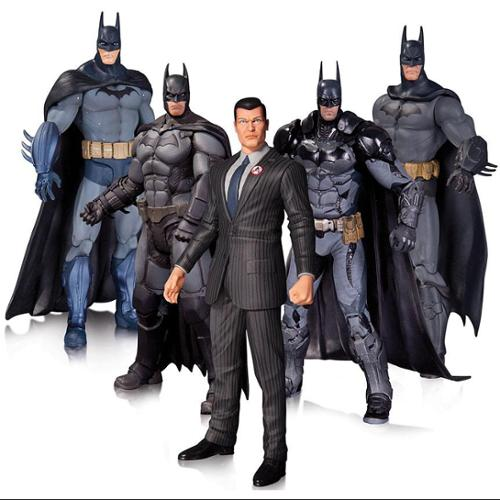 DC Collectibles Arkham Batman Action Figure 5-Pack