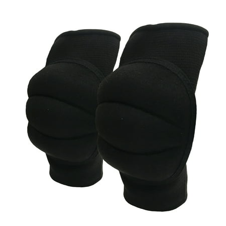 CSI Cannon Sports Pro Series Volleyball Knee Pads, Black, Adult