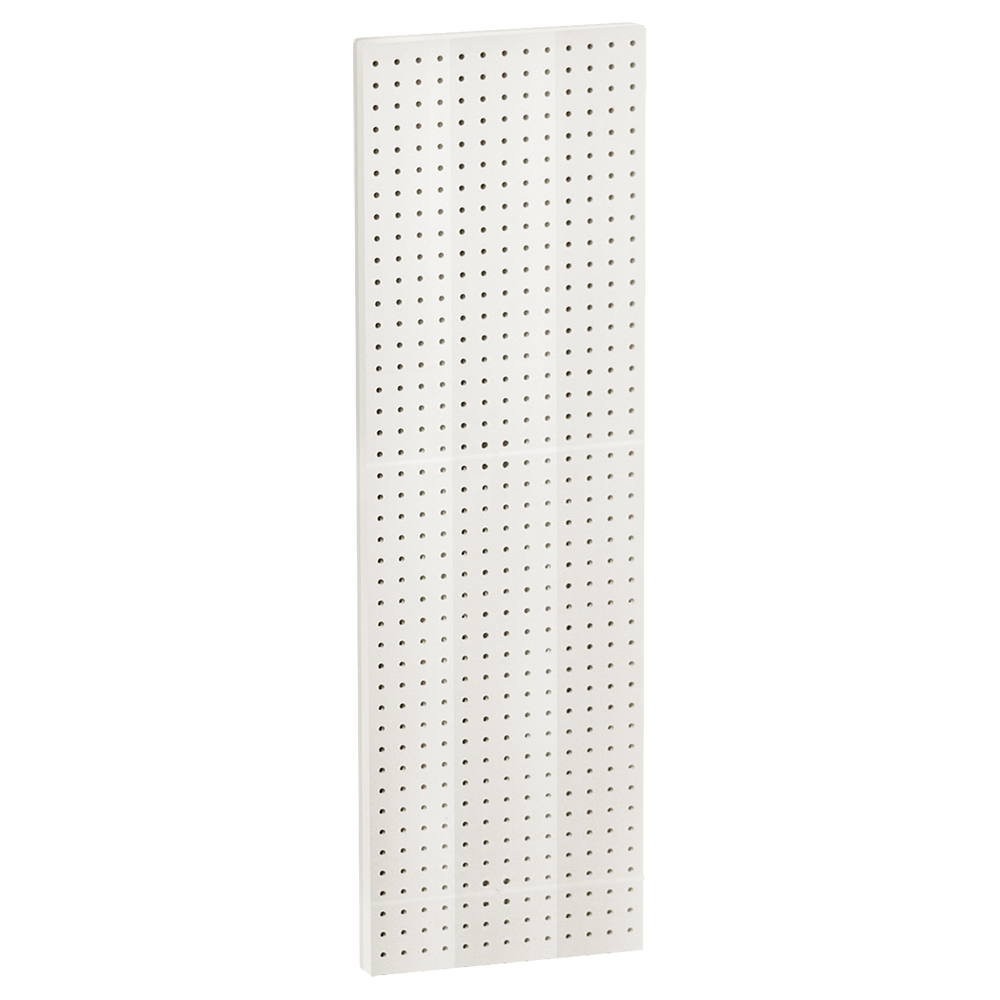 """Azar 771344-WHT 13.5"""" x 44"""" Pegboard Panel , 2Pack"""