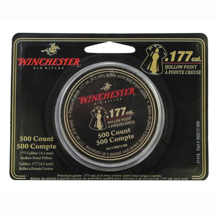 Cal Products Rocket (Daisy Outdoor Products Winchester Air Gun Pellets .177 Cal, 9.7 Grains, Hollow Point, Tin of)