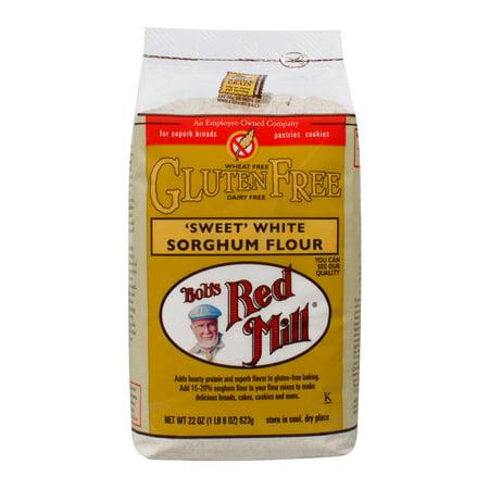 Bobs Red Mill Gluten Free Sweet White Sorghum Flour, 22 Oz](Red Bob)