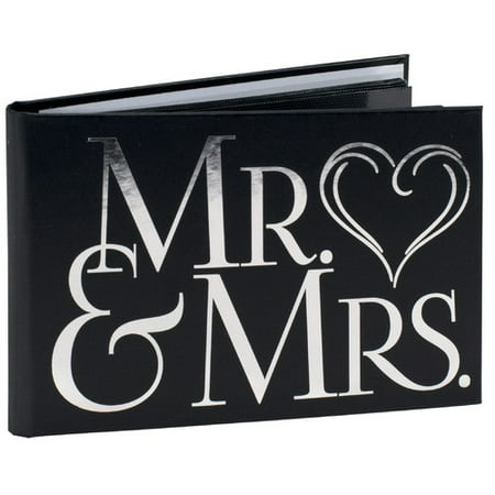 MR   MRS BRAG BOOK holds 40 6x4 prints (Brag Book Photo Holder)