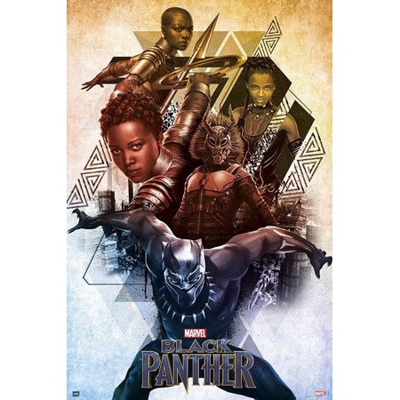 Black Panther - Marvel Movie Poster / Print (Characters) (Size: 24