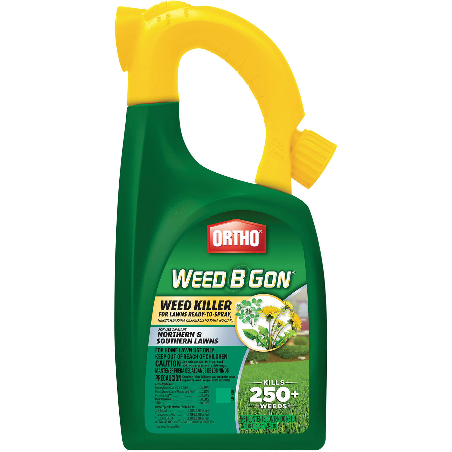 Ortho Weed B Gon Weed Killer for Lawns Ready-To-Spray, 32 oz