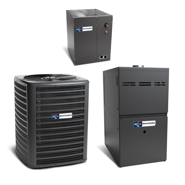 Direct Comfort 2 Ton 16 SEER 2 STAGE AC R410A Air Conditioning Split System