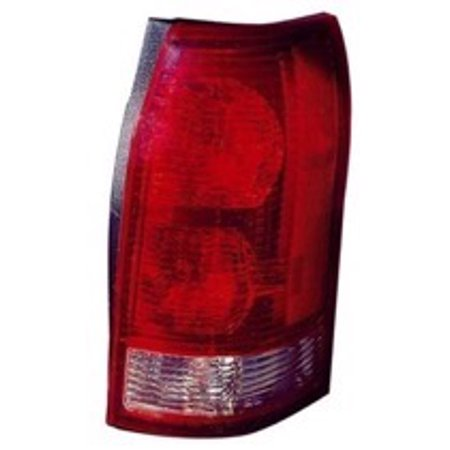Go-Parts » 2002 - 2007 Saturn Vue Rear Tail Light Lamp Assembly / Lens / Cover - Right (Passenger) 19206833 GM2819172 Replacement For Saturn Vue