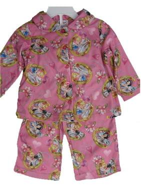 3901126aa1a9 Product Image Baby Girls Pink Princesses Horse Print 2 Pc Pajama Set  12-24M. Disney