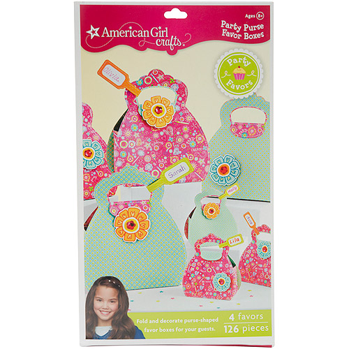 American Girl Purse Favor Boxes