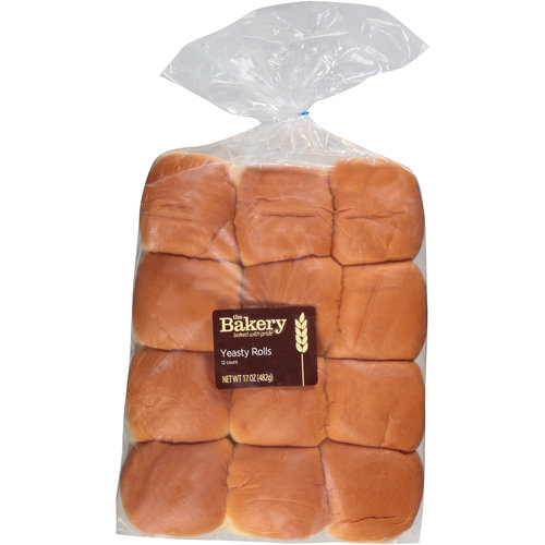 The Bakery Yeasty Rolls, 12 count, 17 oz
