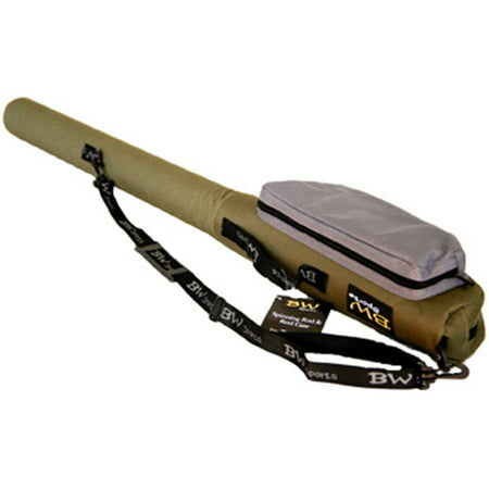 Bw sports sports spinning rod and reel case for Fishing rod and reel case