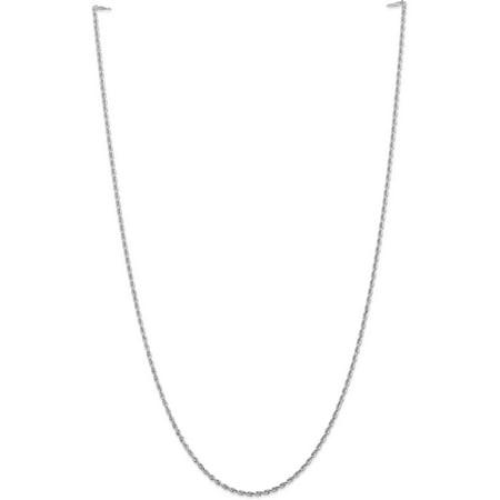 10k White Gold 2.00mm D/C Quadruple Rope