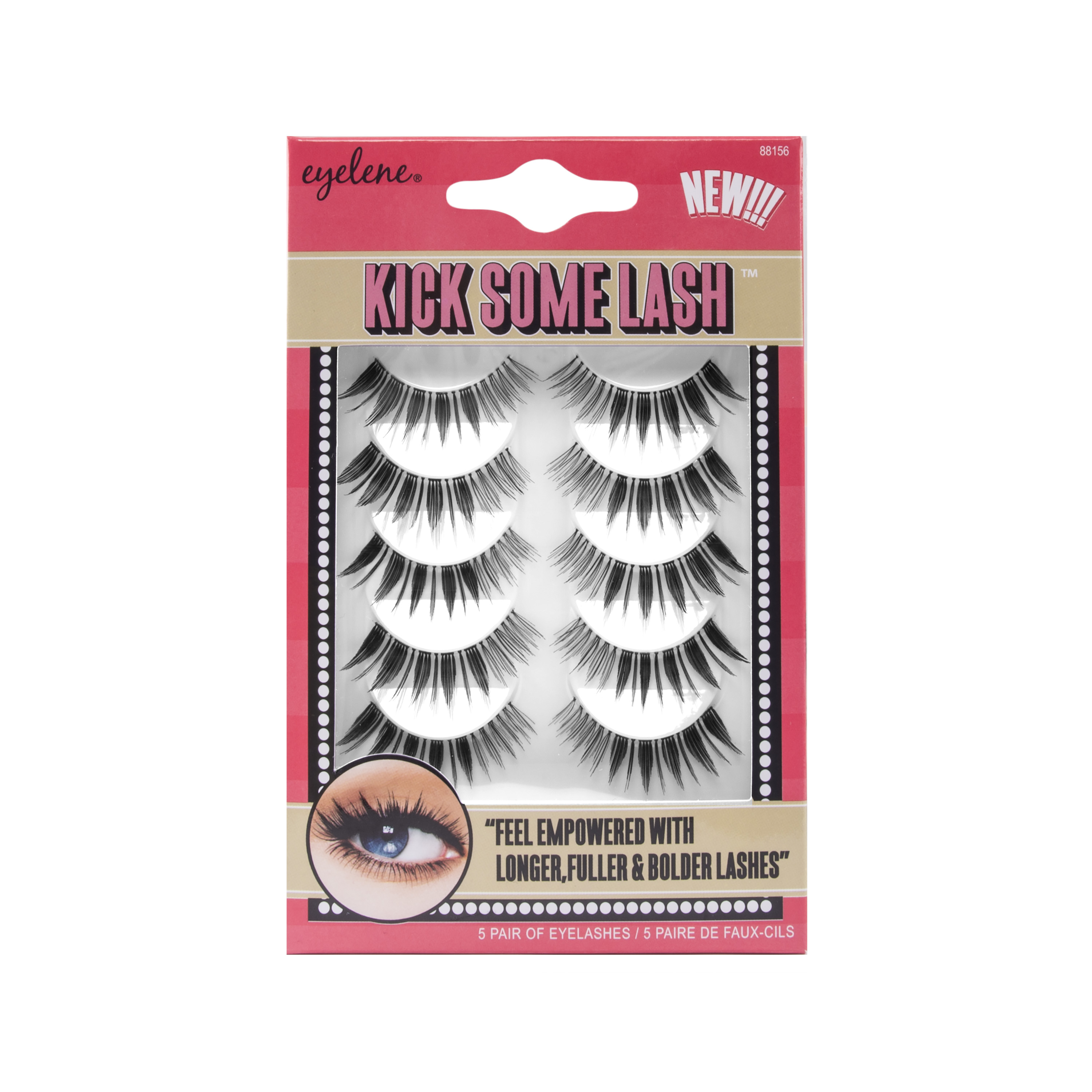 Eyelene Kick Some Lash False Eyelashes 88156