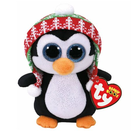 Ty Beanie Babies 37239 Boos Penelope the Christmas Penguin Boo (Beanie Boo Party Supplies)