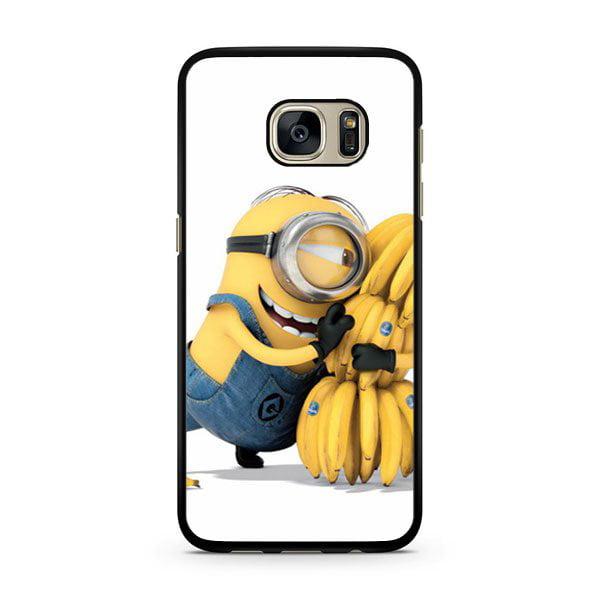 Despicable Me Minion With Bananas Galaxy S7 Edge Case