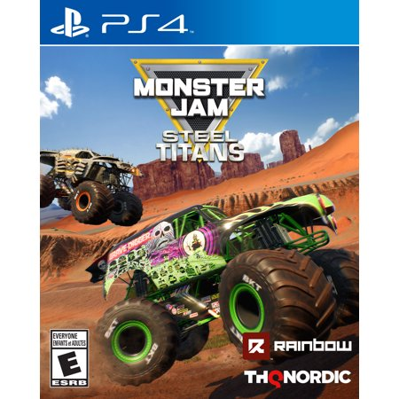 - Monster Jam Steel Titans, THQ-Nordic, PlayStation 4, 811994022004