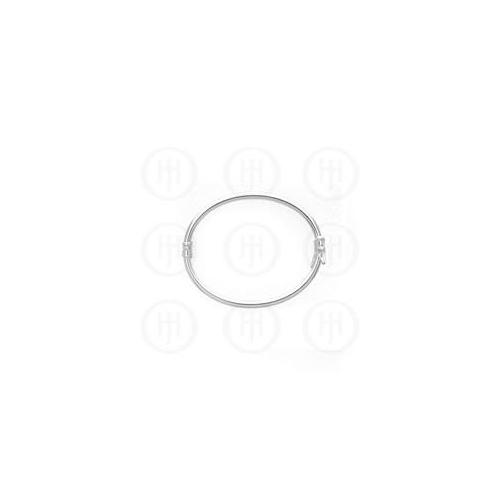Doma Jewellery MAS07314 Sterling Silver - Baby Bangle 50mm -BR3LBaby