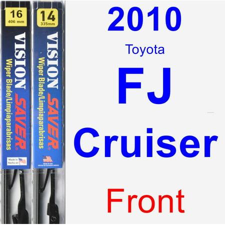 2010 Toyota FJ Cruiser Wiper Blade Set/Kit (Front) (2 Blades) - Vision