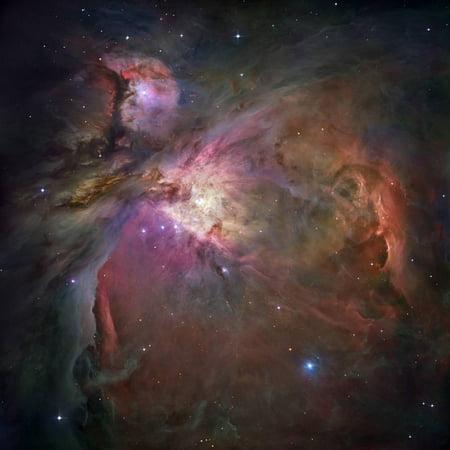 Orion Wall Decor - Orion Nebula (M42 And M43) Print Wall Art