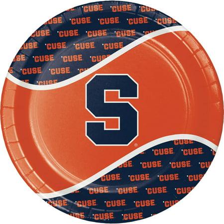 Creative Converting Syracuse University Paper Plates, 8pk (Syracuse University Halloween Party)