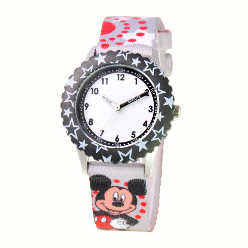 Disney Watches Unisex Mickey Mouse Time Teacher Watch