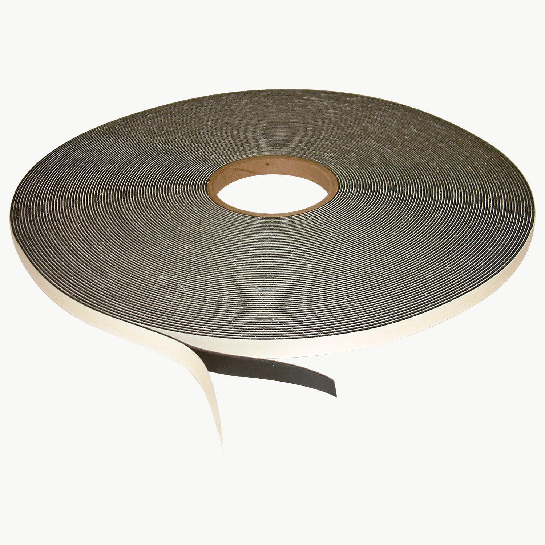 JVCC SCF-01 Single Coated PVC Foam Tape: 1/16 in. thick x 1/2 in. x 50 yds. (Black)