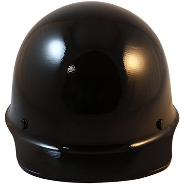 MSA Skullgard Cap Style Hard Hat With Ratchet Suspension Custom Black Color