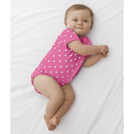 Infant Baby Rib Lap Shoulder Bodysuit