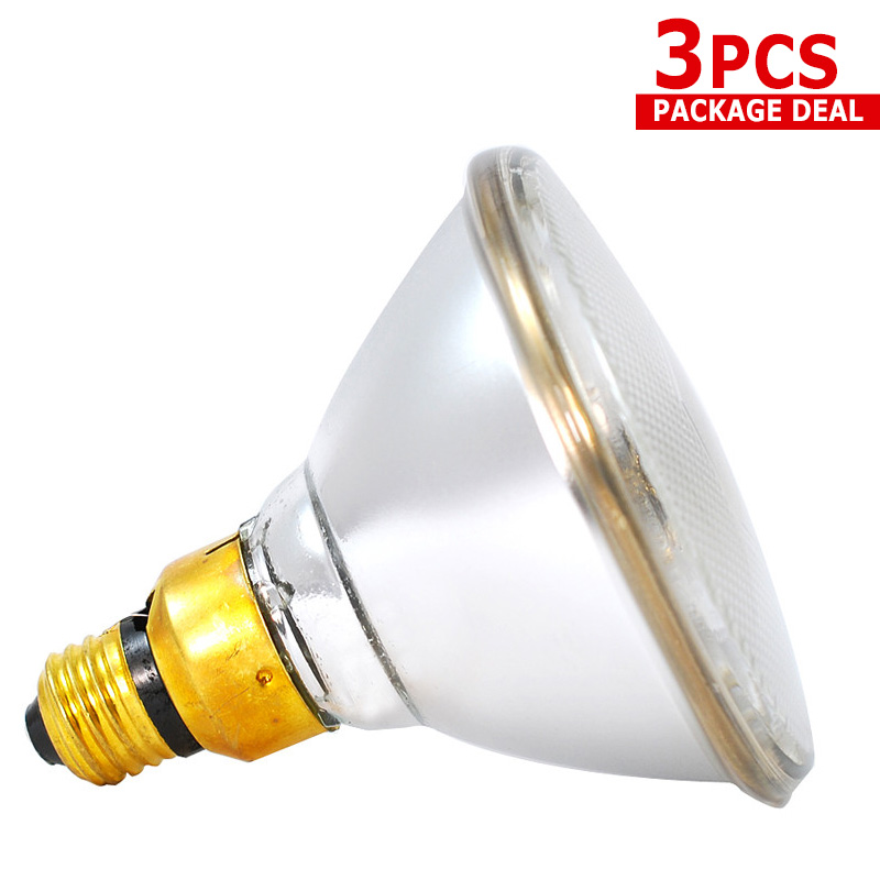3x 90 watt PAR 38 Flood Lighting 90w Par38 Can FL Bulb