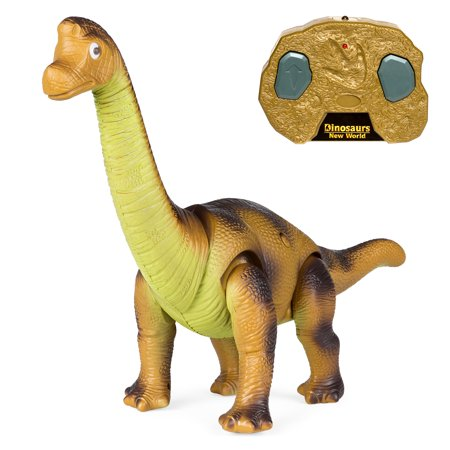 Best Choice Products 17.5-Inch RC Brachiosaurus Toy with Light Up Eyes and (Best Light Up Toys)
