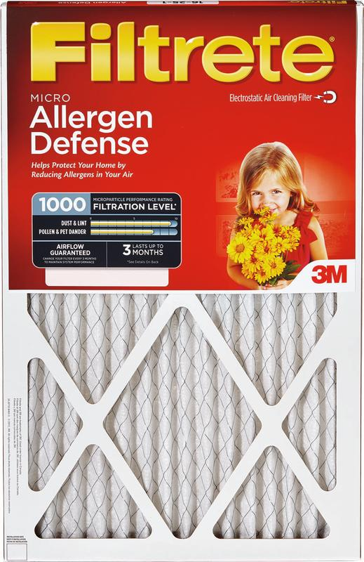 9803 Micro Allergen Airflow Systems Filter by 3M