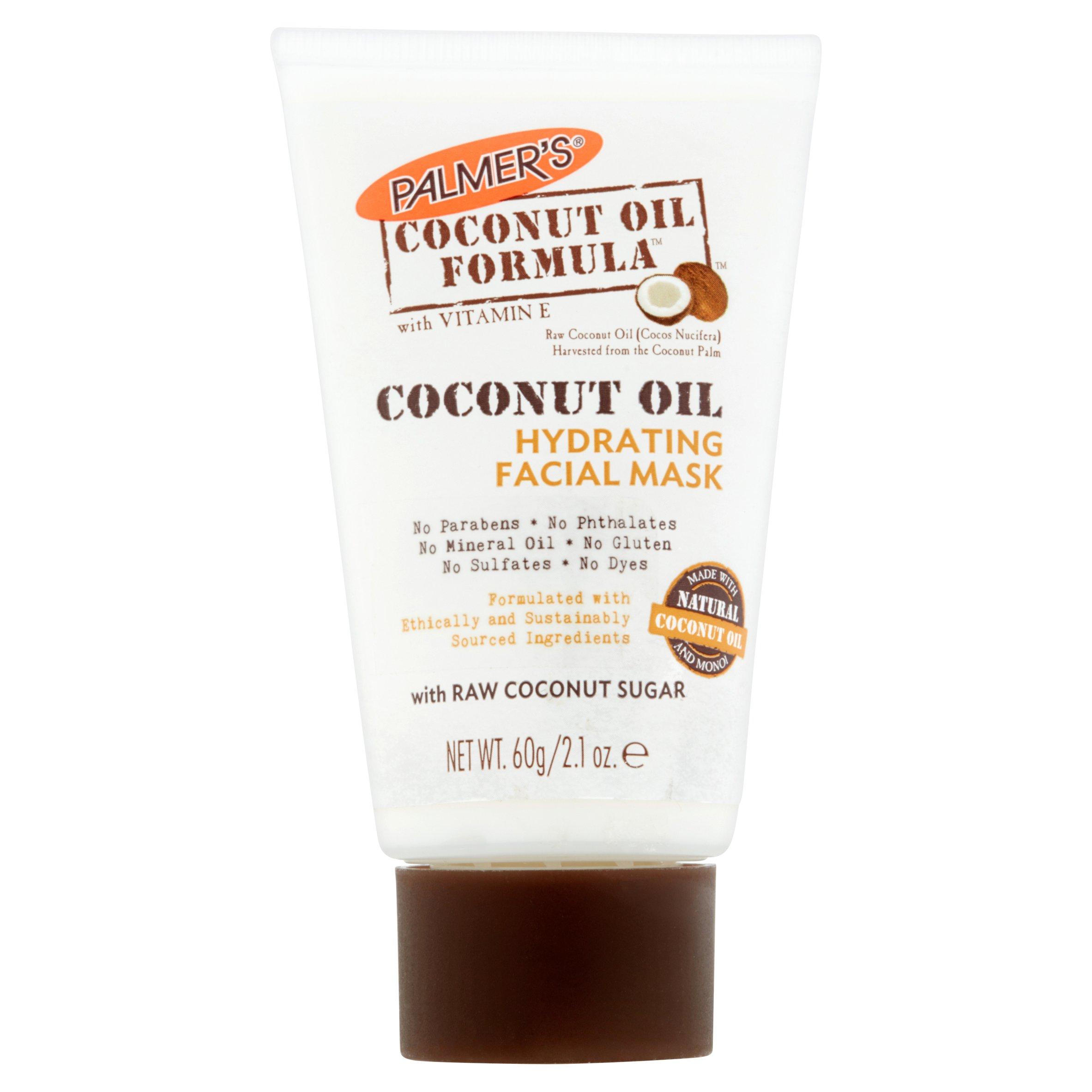 Palmer's Coconut Oil Formula Coconut Oil Hydrating Facial Mask, 2.1 oz