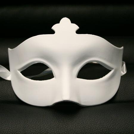 DIY Blank Paper Mache Venetian Masquerade Mask ()