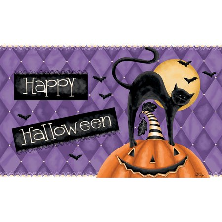 LANG HAPPY HALLOWEEN DOOR MAT - Halloween Math Ideas For Preschoolers