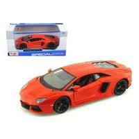 Lamborghini Aventador LP700-4 Orange 1/24 Diecast Model Car by Maisto