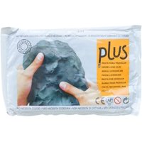 Plus Clay Natural Self-Hardening Clay Black 2.2 pounds, A premium, self-hardening, air dry clay with exceptional plasticity; an ultra-fine grade that.., By Activa