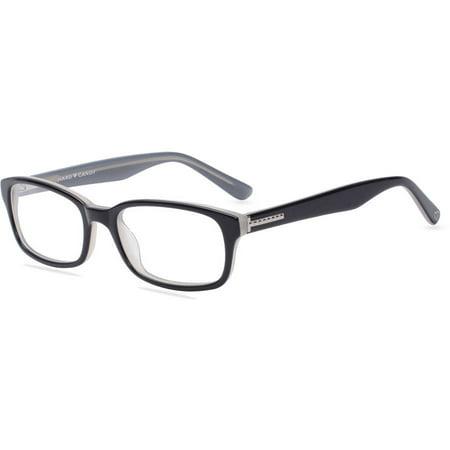 (Hard Candy Womens Prescription Glasses, HC17 Black)