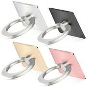 4Packs Universal Smartphone Ring Grip Stand Holder Car Mounts Cradle for Cellphone Tablet