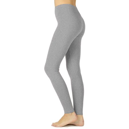 KOGMO Womens Premium Cotton Full Length Leggings Multi Colors (S-XL)