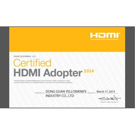 LIVEDITOR Gold HDMI 270 Degree Male to Female Extend Adapter / Converter,2Packs - image 2 of 6