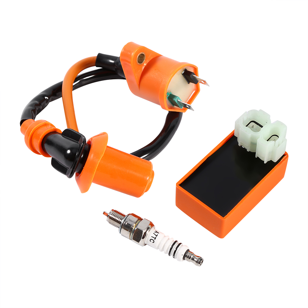 New Racing Performance CDI Ignition Coil Spark Plug Automotive Replacement Ignition Coils