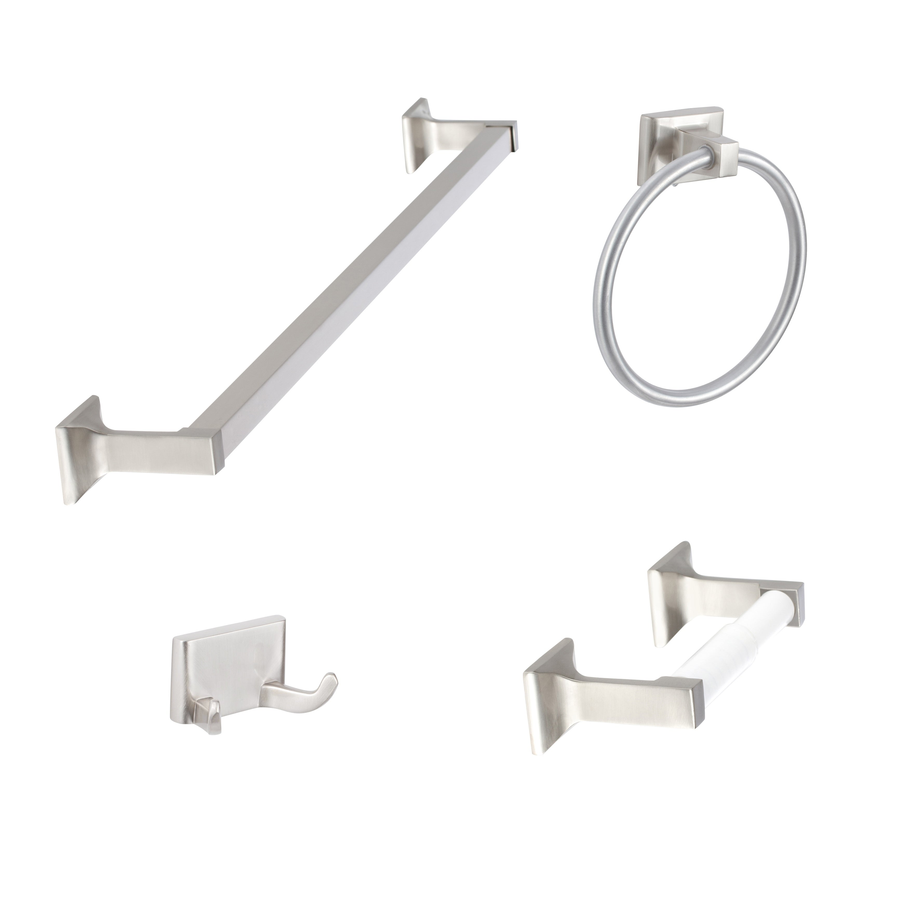 SURE-LOC HARDWARE Sure-Loc Basic 11-piece Bathroom Accessory Set -  Walmart.com