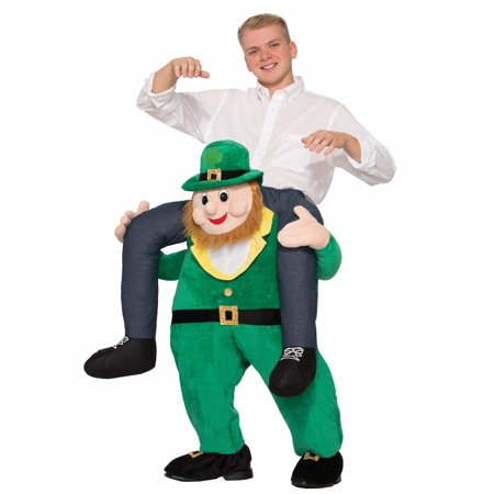 Ride a St. Patrick's Day Leprechaun Adult Costume - One-Size