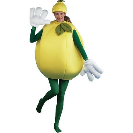 Lemon Adult Halloween Costume](Lemon Halloween Costume)