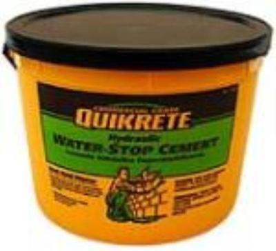 Quikrete 10 LB Pail Hydraulic Water Stop Cement Rapid Set...