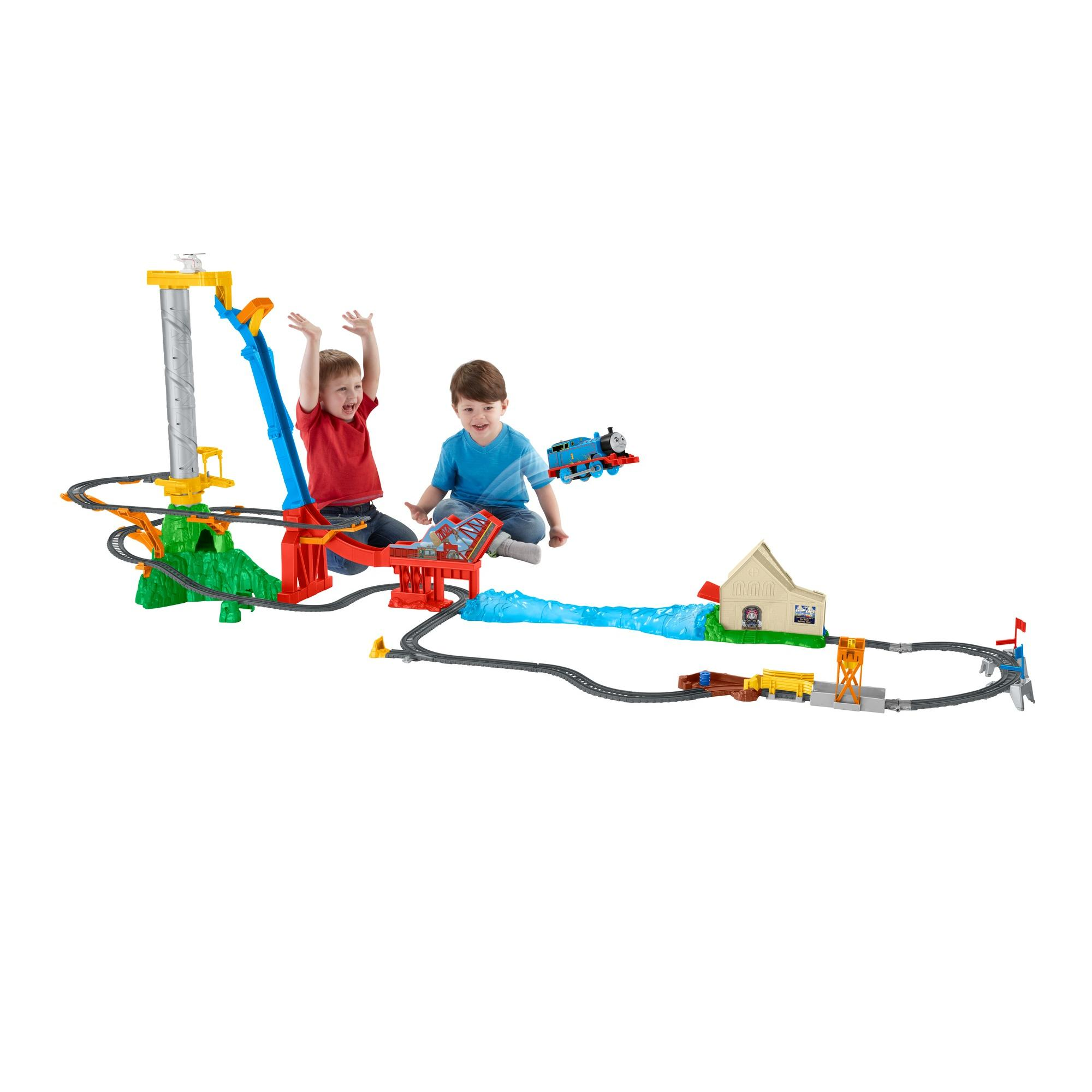 Fisher Price Thomas & Friends TrackMaster Thomas' Sky-High Bridge Jump by Fisher-Price