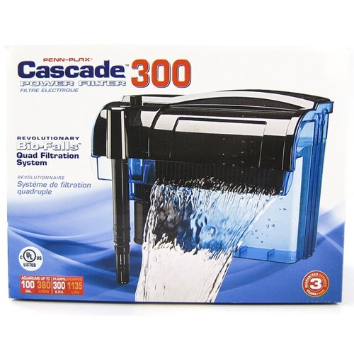 Cascade Power Filter for Aquariums