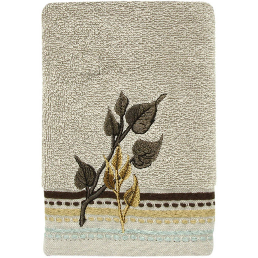 Bacova Guild Birch Embroidered Fingertip Towel