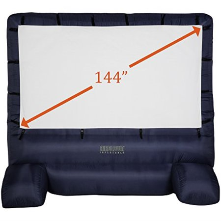 """Gemmy 39127-32 Deluxe Airblown Movie Screen Inflatable with Storage Bag, 144"""" Screen 12 FT TALL x 11.5 WIDE"""