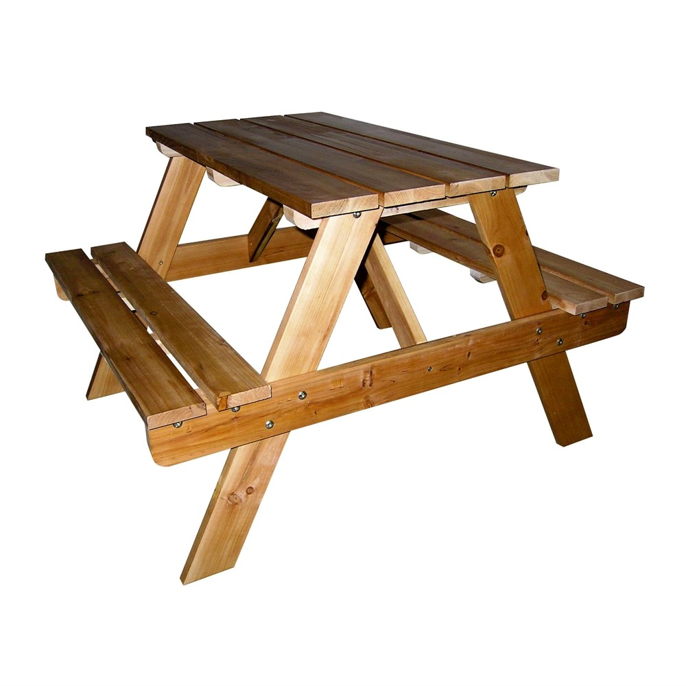 ORE International Kids? Indoor Outdoor Picnic Table by Buff Bake